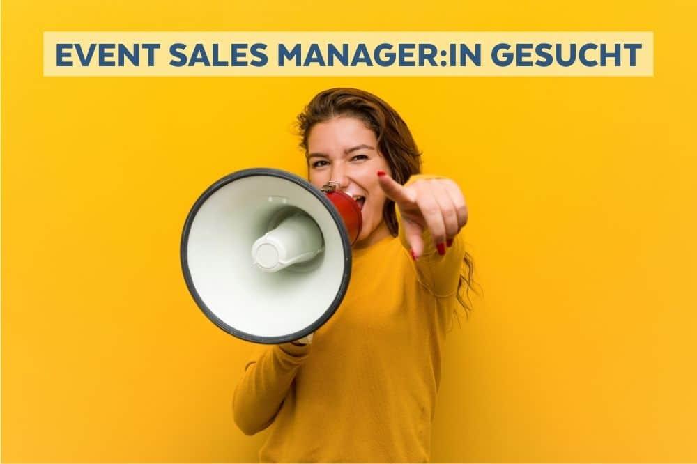 Event Sales Manager gesucht